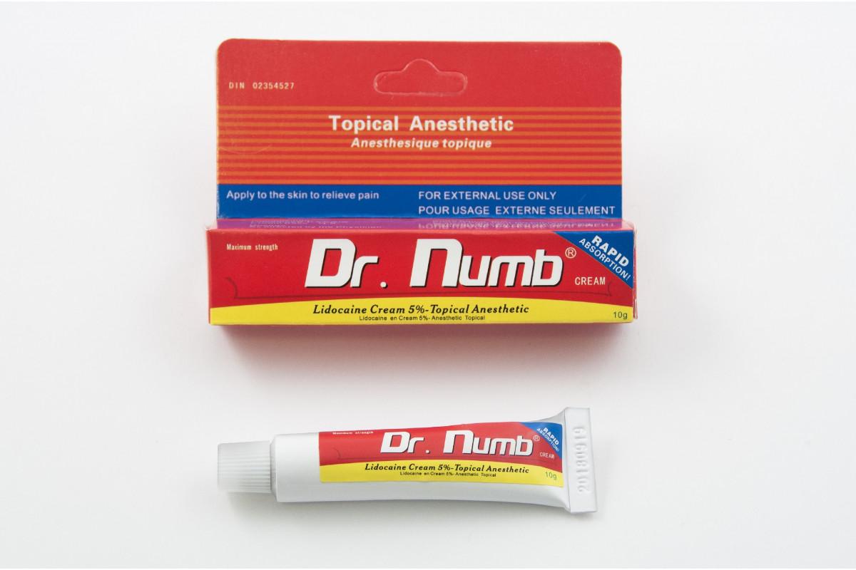 Купить Крем-анестетик Dr. Numb для тату, перманентного ...