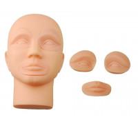 Манекен для отработки перманентного макияжа